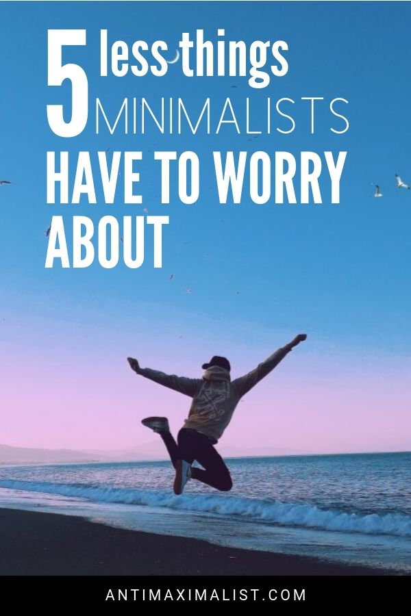 Less things minimalist lifestyle