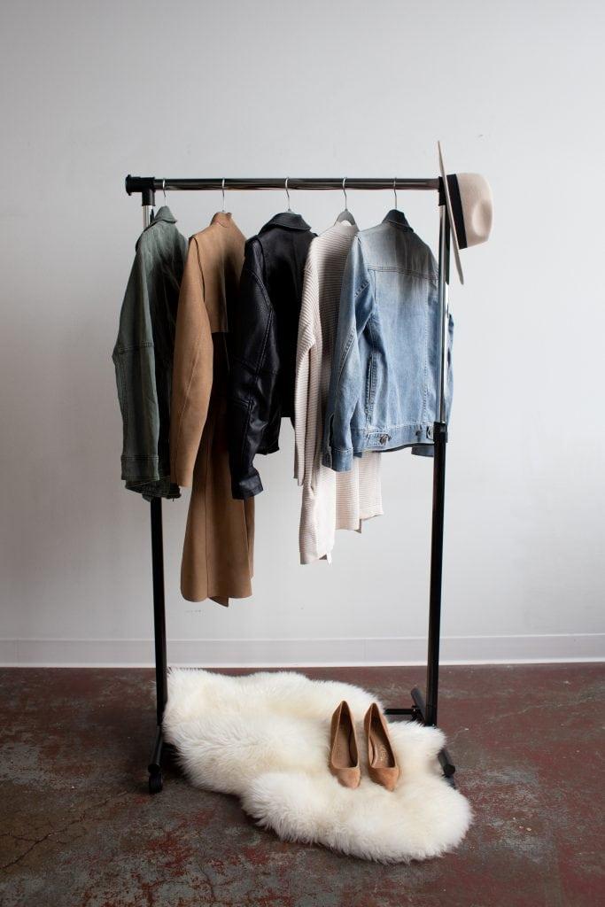 minimal rack. minimalist things not to buy.