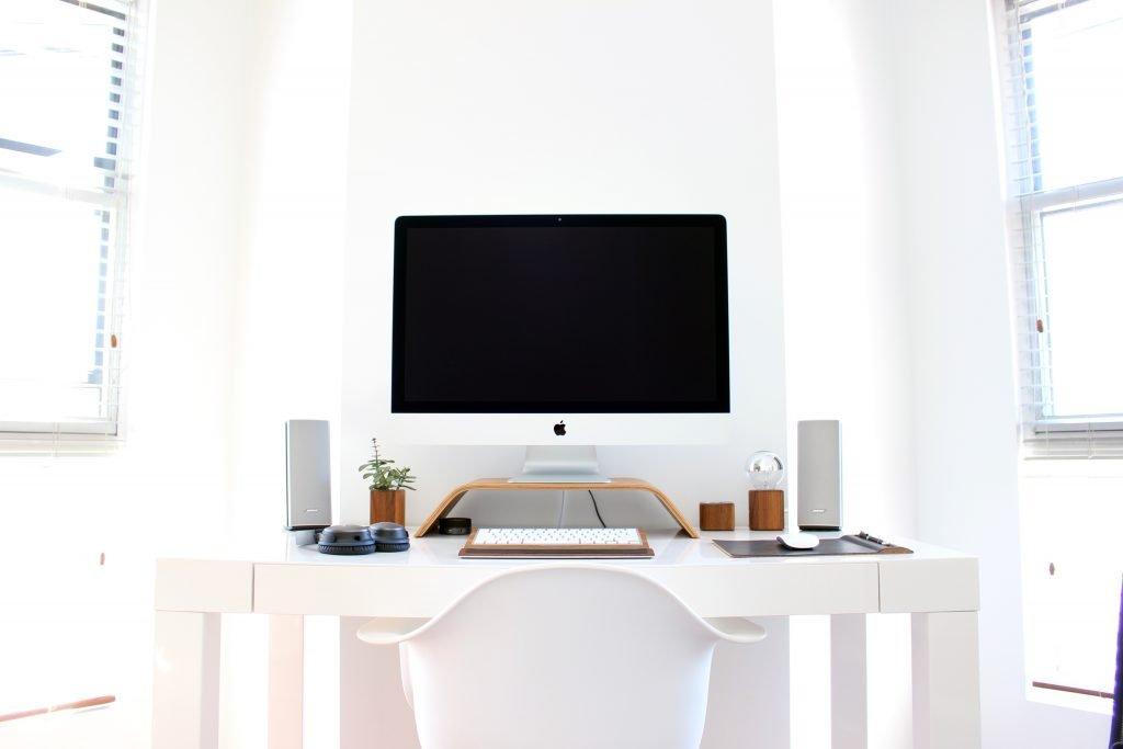 minimalism lifestyle  all white