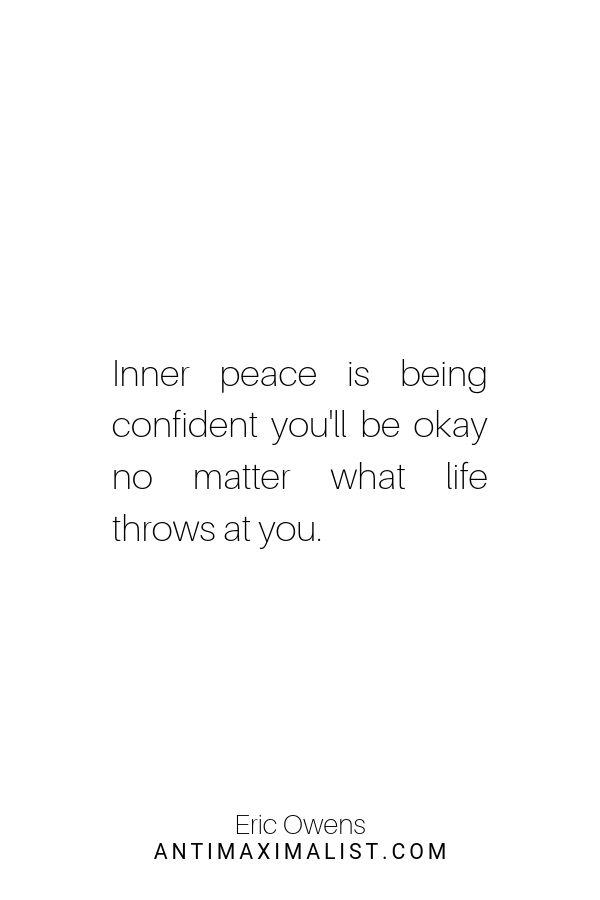 Calm quote