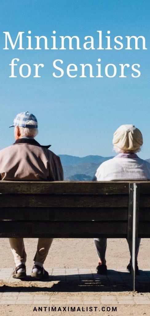 minimalism for seniors