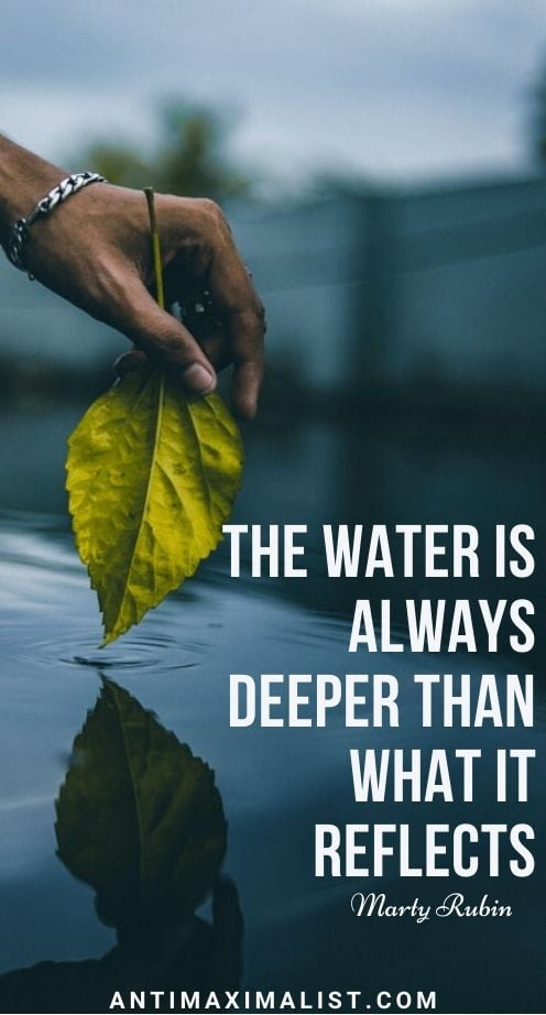 quotes on water reflection